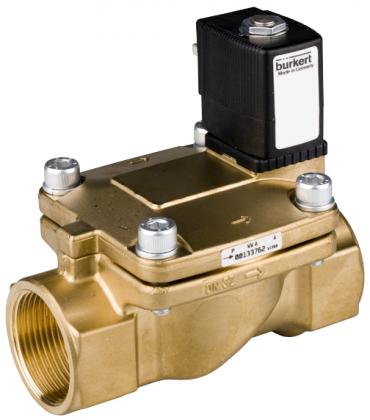 Соленоидный клапан двухходовой тип 5281 Burkert (Германия),  Ду 13-65 мм, давление 0,2-16 бар (снят с производства)