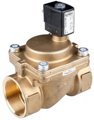 Соленоидный клапан двухходовой тип 6203 Burkert (Германия),  Ду 10-40 мм, давление 0,5-10 бар (снят с производства)
