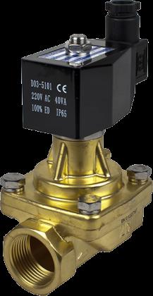 Соленоидный клапан двухходовой для пара тип RSPS Round Star (Китай), Ду 15-25 мм
