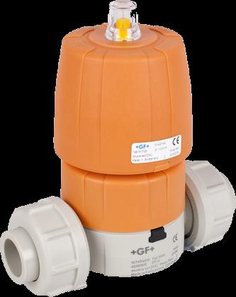 Мембранный клапан с пневмоприводом тип DIASTAR производитель Georg Fischer (Швейцария)