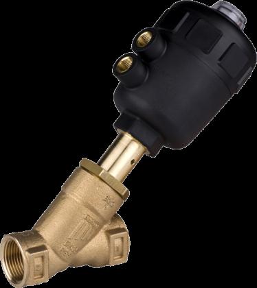 Двухходовой седельный клапан с пневмоприводом тип 2000 производитель Burkert (Германия)
