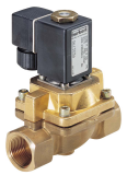 Соленоидный клапан двухходовой тип 0406 Burkert (Германия),  Ду 15-25 мм, давление 0-10 бар (снят с производства)