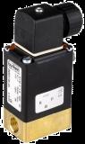 Соленоидный клапан двухходовой или трехходовой тип 0330 Burkert (Германия),  Ду 3-5 мм, давление 0-10 бар (снят с производства)