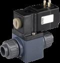Соленоидный клапан двухходовой или трехходовой тип 0131 Burkert (Германия),  Ду 10-20 мм, давление 0-3 бар