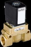 Соленоидный клапан двухходовой тип 5404 Burkert (Германия),  Ду 12-50 мм, давление 1-50 бар