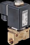 Соленоидный клапан двухходовой тип 0255 Burkert (Германия),  Ду 1-6  мм, давление 0-100 бар