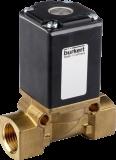 Соленоидный клапан двухходовой тип 0290 Burkert (Германия),  Ду 12-50 мм, давление 0-16 бар