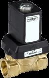 Соленоидный клапан двухходовой тип 6213 Burkert (Германия),  Ду 8-40 мм, давление 0-10 бар