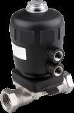 Мембранный клапан с пневмоприводом тип 2031 производитель Burkert (Германия)