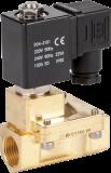 """Соленоидный клапан двухходовой тип RSP, резьба 1/2 - 2"""", Ду 13-50 мм, давление среды 0,3-16 бар"""